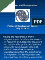 Seminar 13 - Migration and Development