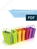 Consumer Protection Act - Kpmg Cpa Booklet - Sep 2010