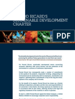 Pernod Ricard Sustainable Development Charter