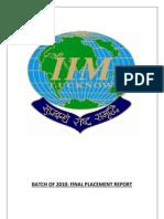 IIML Placement 2010