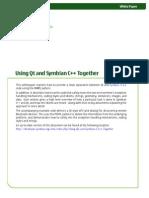 Whitepaper Using Qt and Symbian c Together