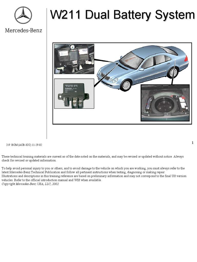 W211 Pre Fuse Box : W pre fuse box circuit diagram maker