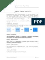 Agency Trainee - Programme Outline - PDF