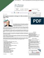 30-04-11El Congreso aprueba la entrega de útiles escolares_ Cano Vélez
