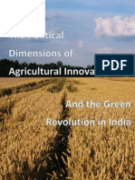 Political Dimensions of Agricultural Innovation and the Green Revolution in India
