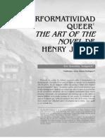 Performatividad Queer-Henry James