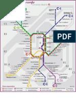 mapa cercanias