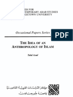 Asad - Idea of an Anthropology of Islam