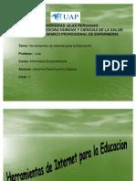 Herramientas de Internet Para La Educacion de PAOLA LACHOS