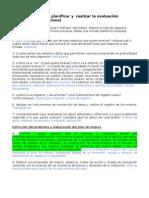 Orientaciones para planificar y  realizar la evaluaci+¦n diagn+¦stica institucional