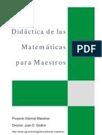 Didactica de Las as Para Maestros