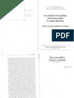 Carli_Sandra._-_Educacion_publica._Historia_y_promesas