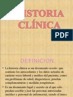 historia clinicaSEMIOLOGIA