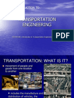 An Introduction to Transportation Engineering