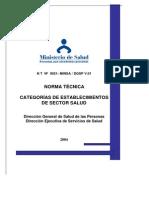 Nt 0021 Documento Oficial Categorizacion