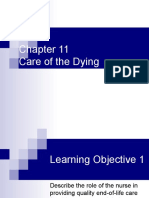 End of Life Care and Pain