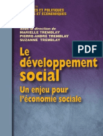2760514153 Le Developpement Social