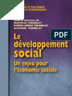 2760514153 Le Developpement Social