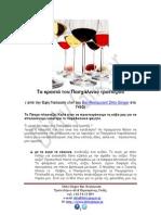 Bar Γκάζι.  Άρθρο για τα κρασιά του Πάσχα