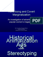 Advertising and Covert Marginalization Animated