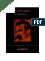 Nietzsche, Friedrich - El Ocaso de Los Idolos