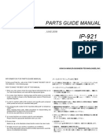 IP-921partsmanual
