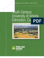 U of A South Campus Sustainable Development Report