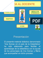 MÓDULO DE APRENDIZAJE ESTADÍSTICA - POWER POINT