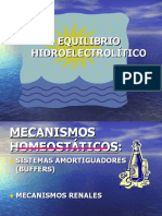 EQUILIBRIO HIDROELECTRÓLITICO