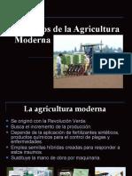 IMPACTOS DE LA AGRICULTURA MODERNA - INTRODUCCIÓN
