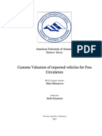 Custom Valuation