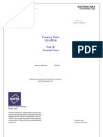 Petrospection Calibration Tables (Report)
