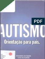 AUTISMO -  Orientação para Pais