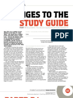 May2010 Changes to Study Guide Part 1