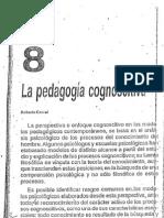 La Pedagogía Cognoscitiva