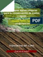 ESTRATEGIAS AGROECOLÓGICAS PARA LA CONSERVACIÓN DE SUELOS Y AGUAS