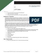 Lab 4.5.4.4 Term UTP Cables PunchDown