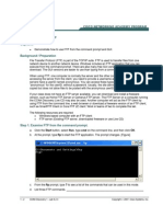Lab 6.2.3 Exploring FTP