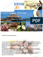 EXPERIENCE DAVAO! AIESEC DAVAO SNR Booklet 2011