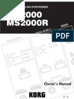MS200R Manual