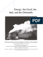 Nuclear Energy_ the Good, The Bad, And the Debatable - Curriculum Booklet - Desconocido
