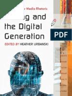 Writing and the Digital Generation Essays on New Media Rhetoric-MANTESH