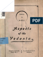 Aspects of Vedanta