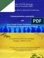 Presentation Claude Gemar