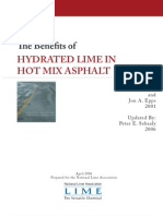 Benefits Hydrated Lime Hot Mix Asphalt