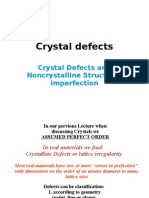 Crystal Defects