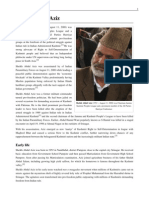 Sheikh Abdul Aziz (Kashmiri Freedom Fighter)