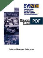 Manual de Relaciones Con Los Electores