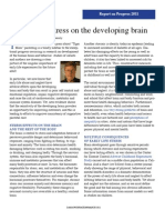 Effects of Stress on the Developing Brain