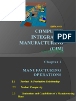CHAP 2 Manufacturing Operation